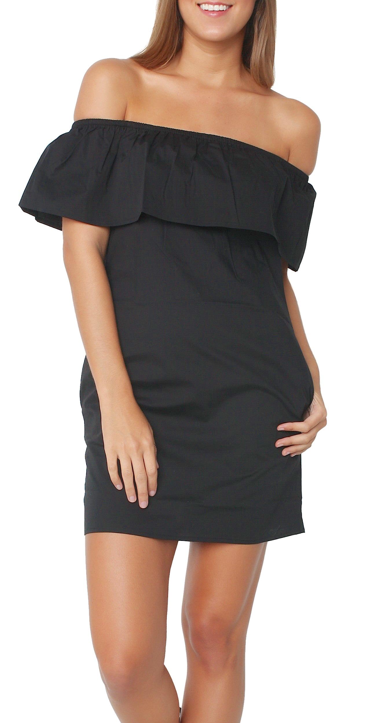 cb7399bd8c66 ... Off Shoulder Cotton Dress ...