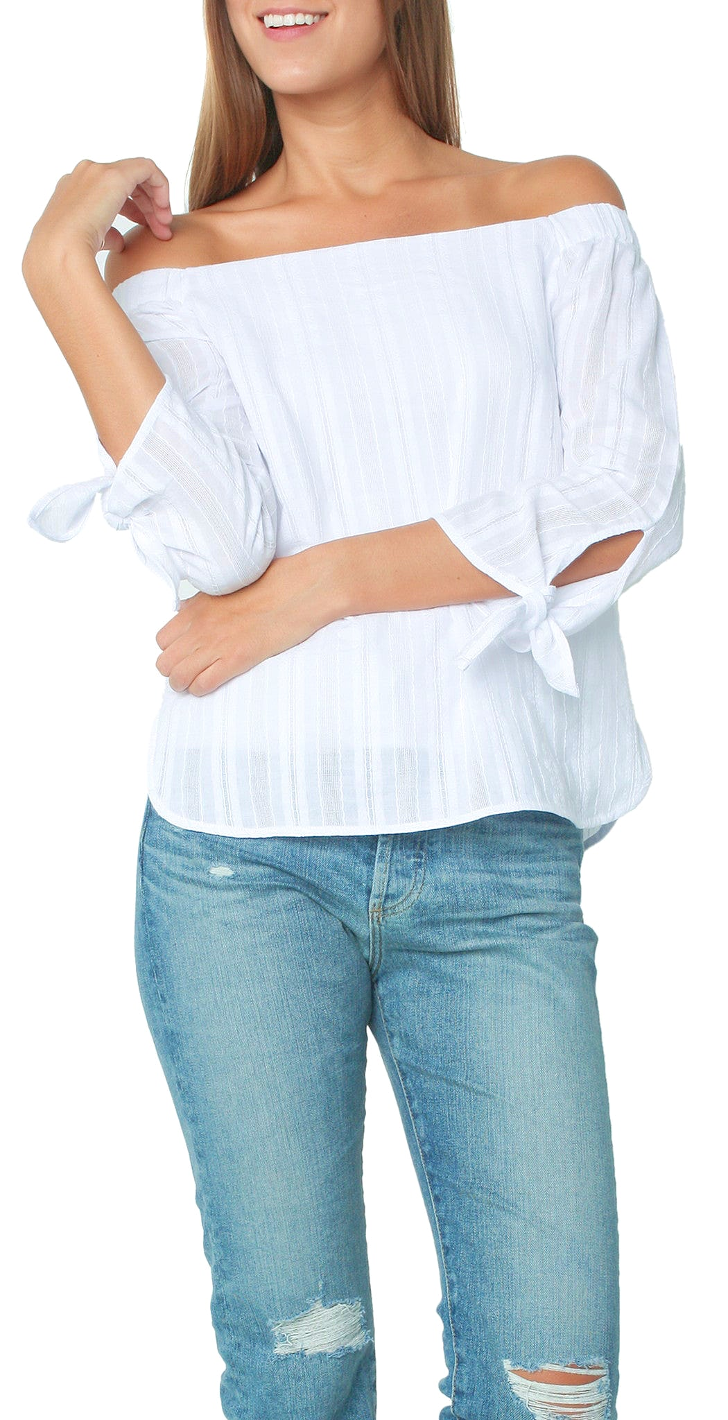 e7051bfc331 Bailey 44 Bailey 44. Tops, Blouses/Night Out. Yarrow Top White ...